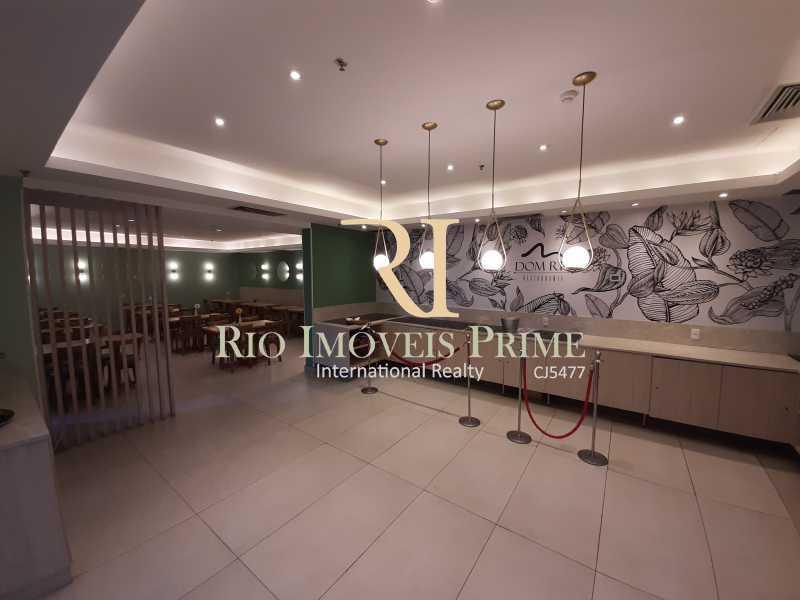 RESTAURANTE - Flat 1 quarto à venda Barra da Tijuca, Rio de Janeiro - R$ 749.900 - RPFL10110 - 26