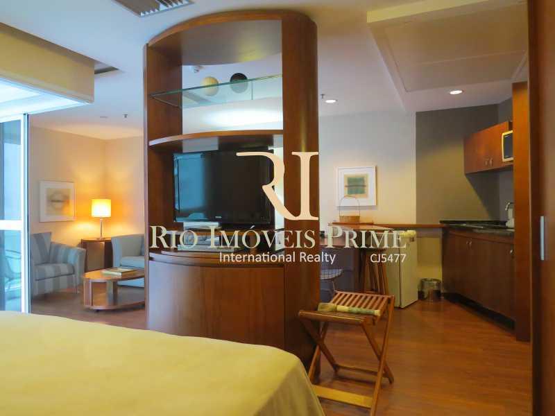 SALA - Flat 1 quarto à venda Barra da Tijuca, Rio de Janeiro - R$ 749.900 - RPFL10110 - 7