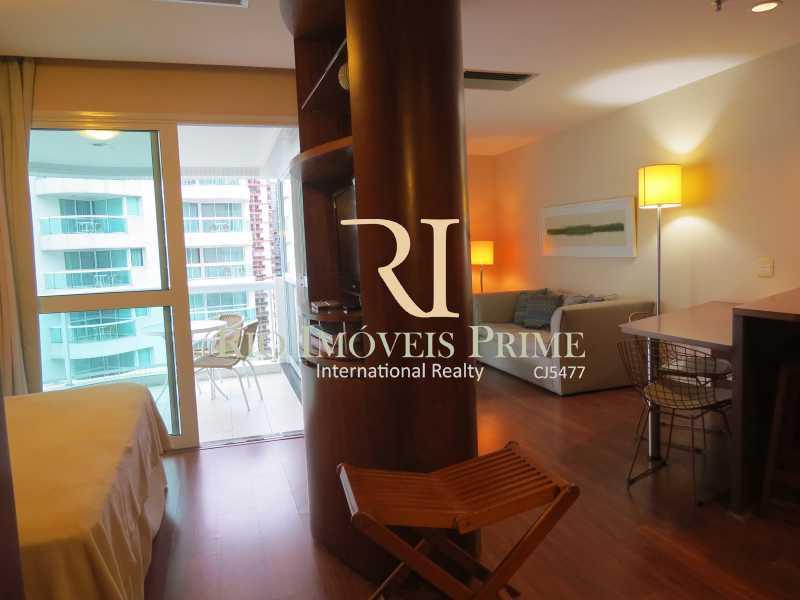 QUARTO - Flat 1 quarto à venda Barra da Tijuca, Rio de Janeiro - R$ 749.900 - RPFL10110 - 9