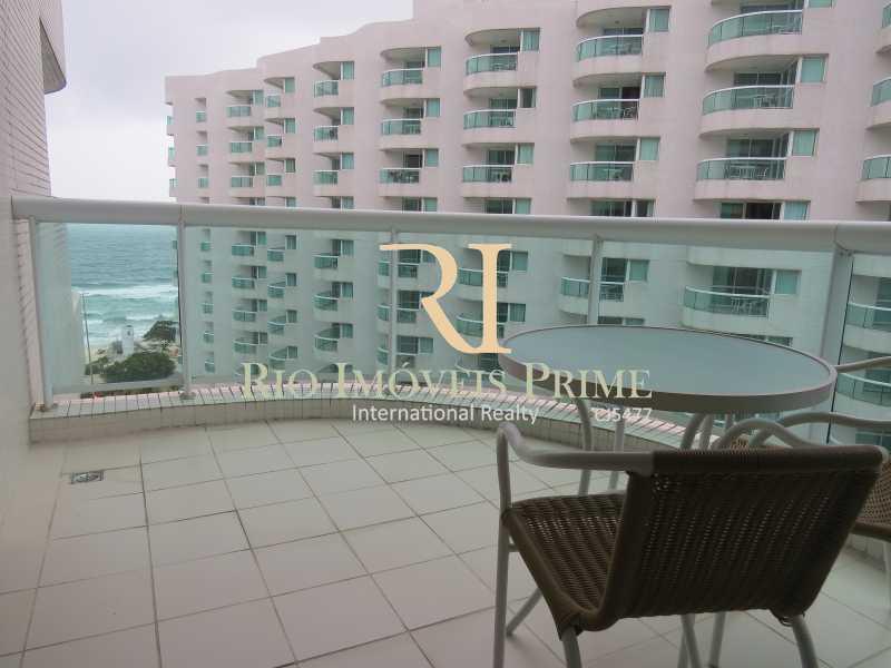 VARANDA - Flat 1 quarto à venda Barra da Tijuca, Rio de Janeiro - R$ 749.900 - RPFL10110 - 10