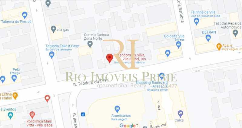 LOCALIZAÇÃO - Apartamento à venda Rua Teodoro da Silva,Vila Isabel, Rio de Janeiro - R$ 335.000 - RPAP20253 - 22