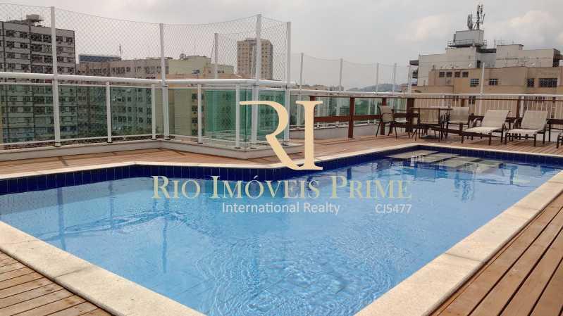 PISCINA CONDOMÍNIO - Apartamento 2 quartos à venda Tijuca, Rio de Janeiro - R$ 545.000 - RPAP20254 - 17