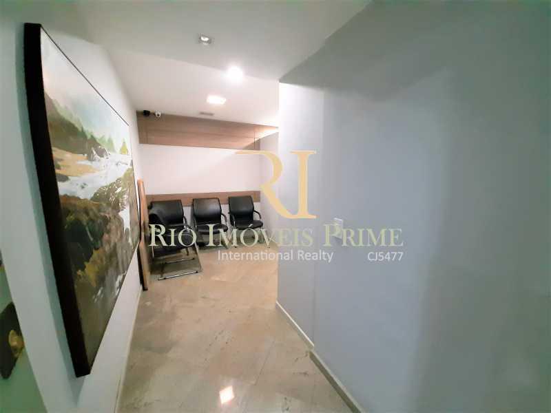 RECEPÇÃO - Sala Comercial 77m² à venda Avenida Olegário Maciel,Barra da Tijuca, Rio de Janeiro - R$ 580.000 - RPSL00028 - 4