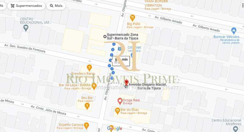DISTÂNCIA MERCADO ZONA SUL - Sala Comercial 77m² à venda Avenida Olegário Maciel,Barra da Tijuca, Rio de Janeiro - R$ 580.000 - RPSL00028 - 21