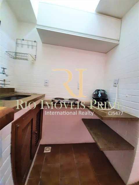 COZINHA - Apartamento à venda Avenida Rodrigo Otavio,Gávea, Rio de Janeiro - R$ 425.000 - RPAP10065 - 9