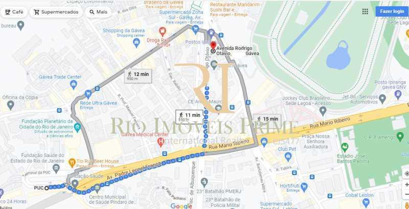 DISTÂNCIA PUC - Apartamento à venda Avenida Rodrigo Otavio,Gávea, Rio de Janeiro - R$ 425.000 - RPAP10065 - 21