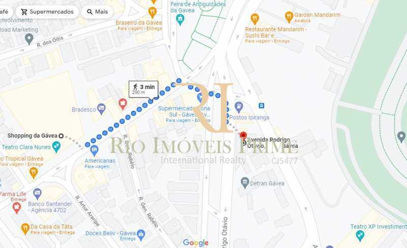DISTÂNCIA SHOPPING DA GÁV - Apartamento à venda Avenida Rodrigo Otavio,Gávea, Rio de Janeiro - R$ 425.000 - RPAP10065 - 22