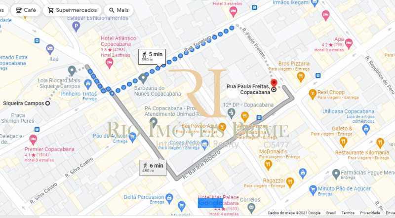 DISTÂNCIA METRÔ SIQUEIRA CAM - Loja 31m² para venda e aluguel Rua Paula Freitas,Copacabana, Rio de Janeiro - R$ 280.000 - RPLJ00006 - 16