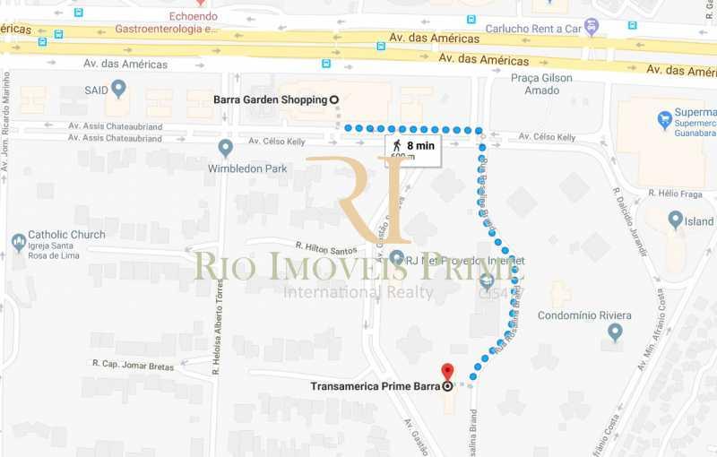 DISTÂNCIA BARRA GARDEN. - Flat À Venda - Barra da Tijuca - Rio de Janeiro - RJ - RPFL20011 - 21
