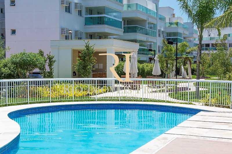 PISCINA - Apartamento 2 quartos à venda Recreio dos Bandeirantes, Rio de Janeiro - R$ 585.000 - RPAP20015 - 14