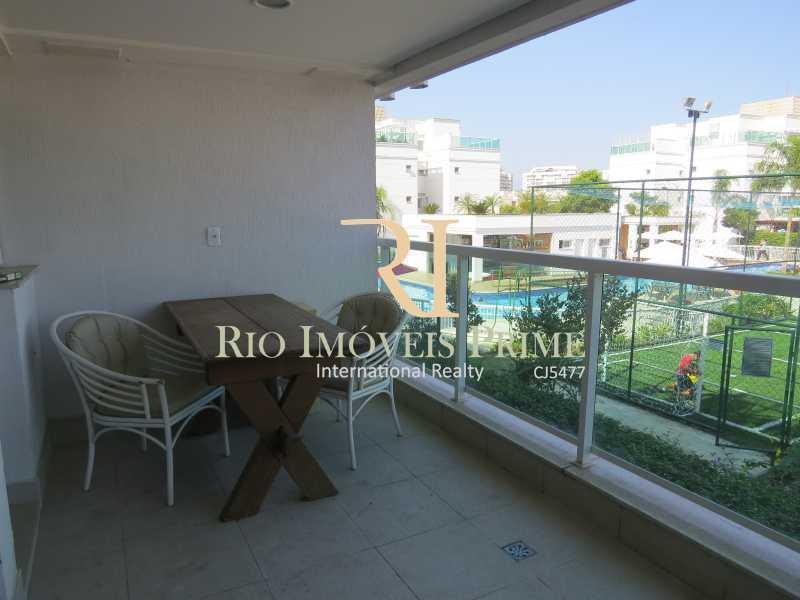 VARANDA - Apartamento 2 quartos à venda Recreio dos Bandeirantes, Rio de Janeiro - R$ 585.000 - RPAP20015 - 3