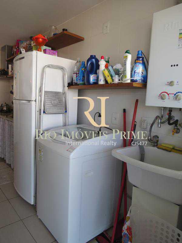 ÁREA SERVIÇO - Apartamento 2 quartos à venda Recreio dos Bandeirantes, Rio de Janeiro - R$ 585.000 - RPAP20015 - 12
