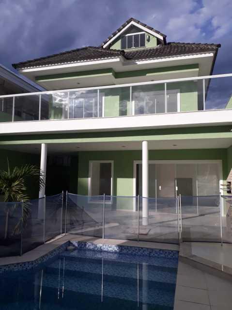 70b04c03-f788-4def-a87b-d86af6 - Casa em Condominio Para Alugar - Rio de Janeiro - RJ - Recreio dos Bandeirantes - ESCN40003 - 1