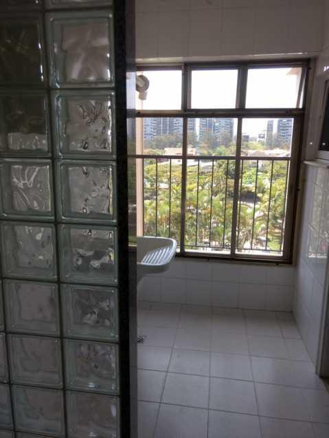 Area de servico. - Apartamento Para Alugar - Rio de Janeiro - RJ - Barra da Tijuca - ESAP20014 - 4