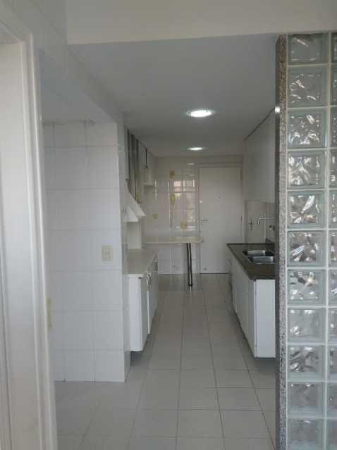 Area de servico - Apartamento Para Alugar - Rio de Janeiro - RJ - Barra da Tijuca - ESAP20014 - 3
