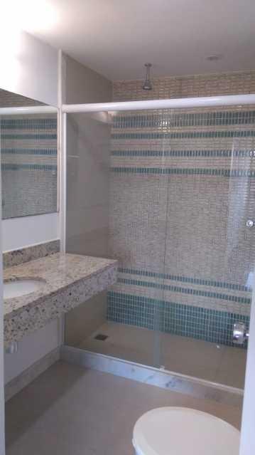 banheiro 5. - Apartamento Para Alugar - Rio de Janeiro - RJ - Barra da Tijuca - ESAP20014 - 19