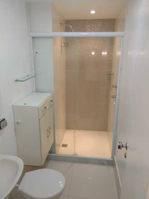 Banheiro Social. - Apartamento Para Alugar - Rio de Janeiro - RJ - Barra da Tijuca - ESAP20014 - 13