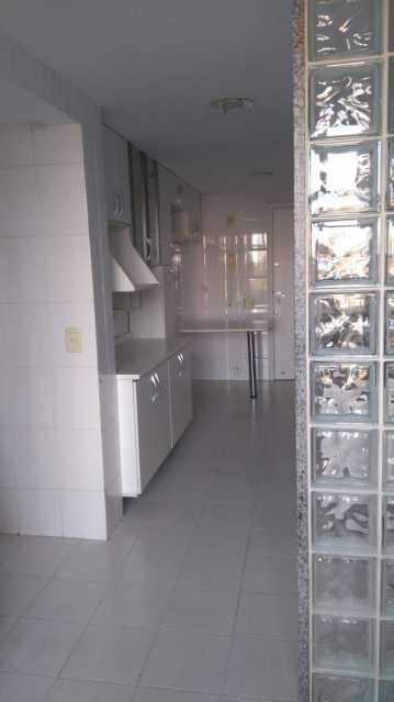 cozinha 1. - Apartamento Para Alugar - Rio de Janeiro - RJ - Barra da Tijuca - ESAP20014 - 5