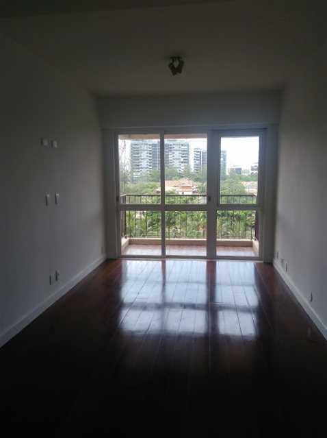 Sala de estar - Apartamento Para Alugar - Rio de Janeiro - RJ - Barra da Tijuca - ESAP20014 - 1