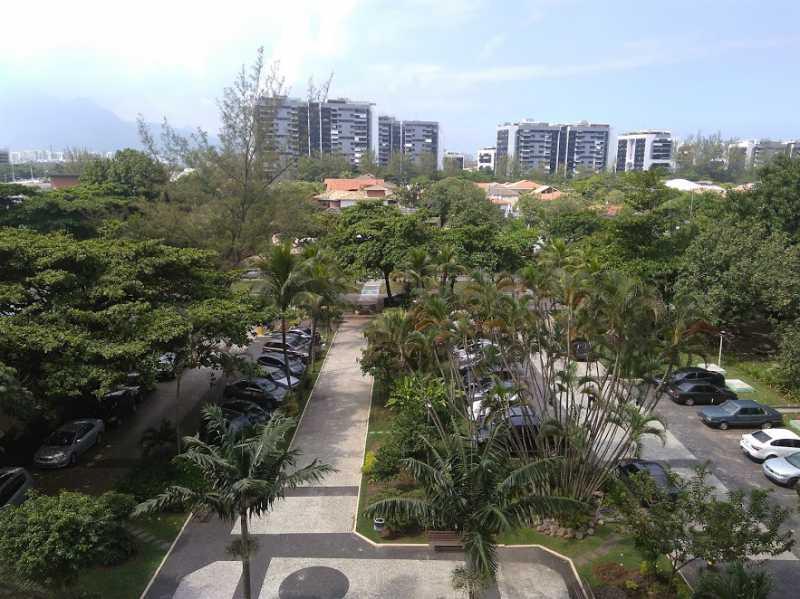 Vista da varanda - Apartamento Para Alugar - Rio de Janeiro - RJ - Barra da Tijuca - ESAP20014 - 21