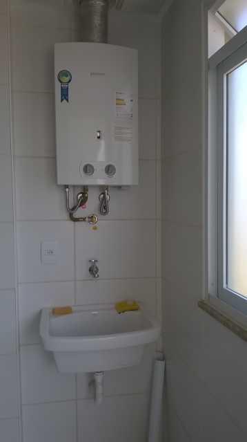 Área de Serviço - Apartamento Para Alugar - Rio de Janeiro - RJ - Recreio dos Bandeirantes - ESAP20004 - 5