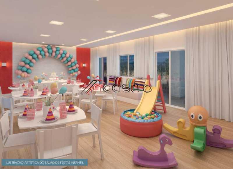 Salão de Festas Infantil - Fachada - Meu Lugar Residencial - 20 - 11