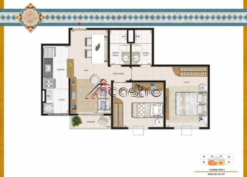 Quarto 31 - Fachada - Meu Lugar Residencial - 20 - 17
