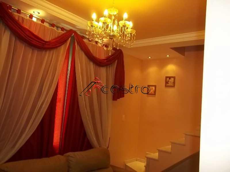 ncastro01 - Casa em Condomínio à venda Rua Santos Titara,Méier, Rio de Janeiro - R$ 380.000 - M2130 - 3