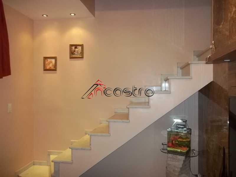 ncastro17 - Casa em Condomínio à venda Rua Santos Titara,Méier, Rio de Janeiro - R$ 380.000 - M2130 - 6