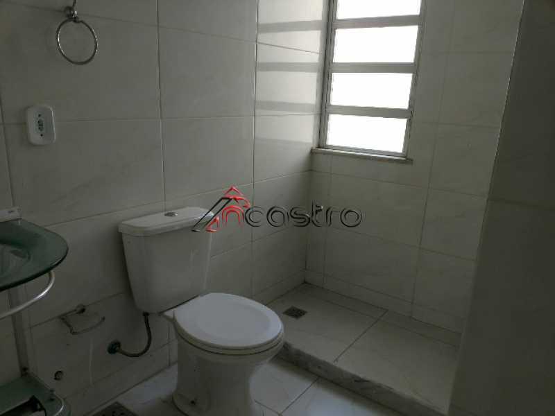 NCastro02 - Apartamento à venda Estrada Adhemar Bebiano,Del Castilho, Rio de Janeiro - R$ 218.000 - 2187 - 17