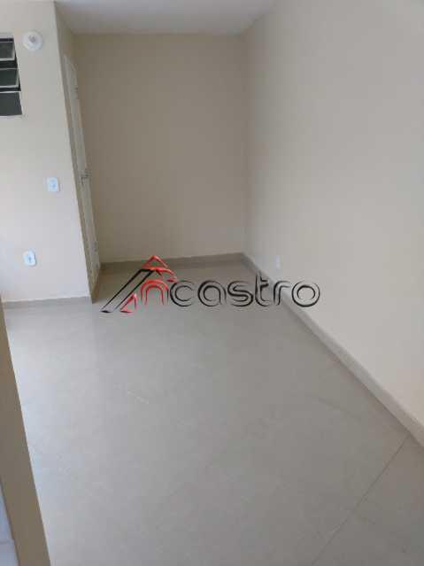 NCastro08 - Apartamento à venda Estrada Adhemar Bebiano,Del Castilho, Rio de Janeiro - R$ 218.000 - 2187 - 1