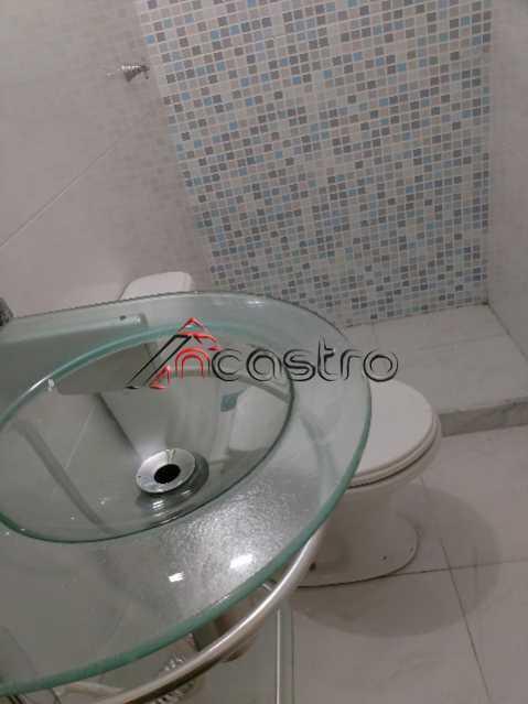 NCastro03 - Apartamento à venda Estrada Adhemar Bebiano,Del Castilho, Rio de Janeiro - R$ 218.000 - 2187 - 18