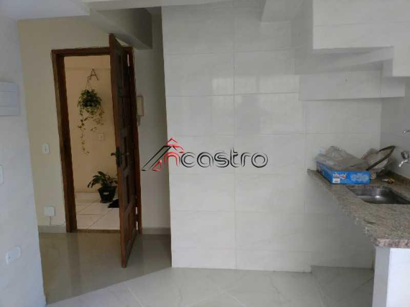 NCastro04 - Apartamento à venda Estrada Adhemar Bebiano,Del Castilho, Rio de Janeiro - R$ 218.000 - 2187 - 4
