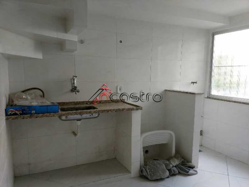 NCastro05 - Apartamento à venda Estrada Adhemar Bebiano,Del Castilho, Rio de Janeiro - R$ 218.000 - 2187 - 16