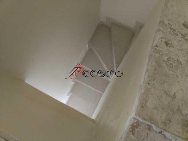 NCastro06 - Apartamento à venda Estrada Adhemar Bebiano,Del Castilho, Rio de Janeiro - R$ 218.000 - 2187 - 21