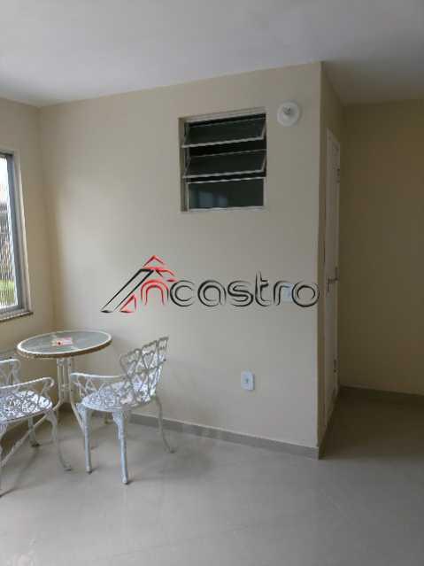 NCastro09 - Apartamento à venda Estrada Adhemar Bebiano,Del Castilho, Rio de Janeiro - R$ 218.000 - 2187 - 6