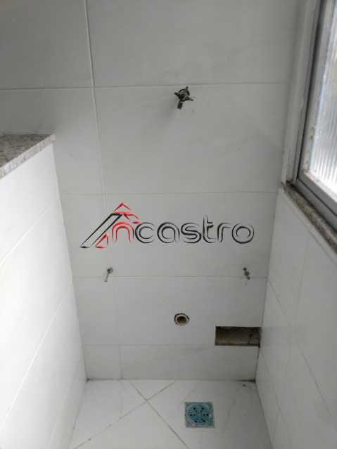 NCastro17 - Apartamento à venda Estrada Adhemar Bebiano,Del Castilho, Rio de Janeiro - R$ 218.000 - 2187 - 14