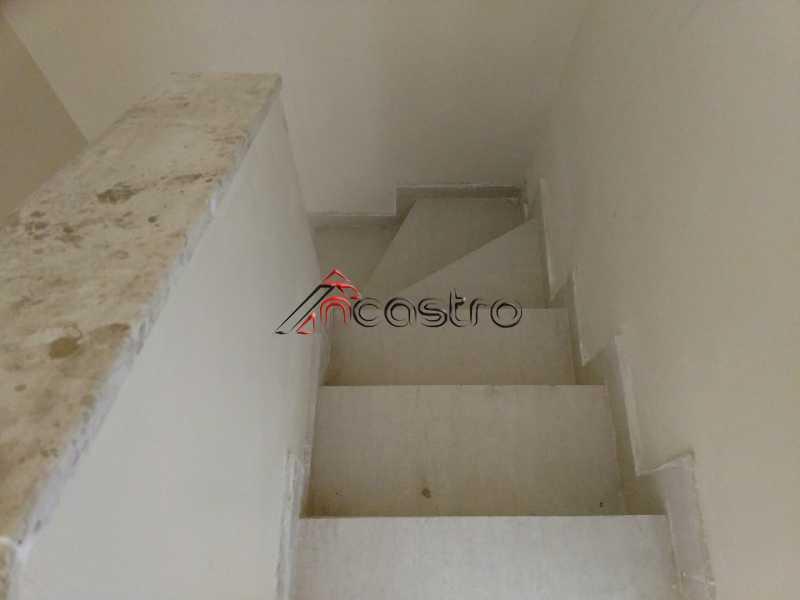 NCastro21 - Apartamento à venda Estrada Adhemar Bebiano,Del Castilho, Rio de Janeiro - R$ 218.000 - 2187 - 20