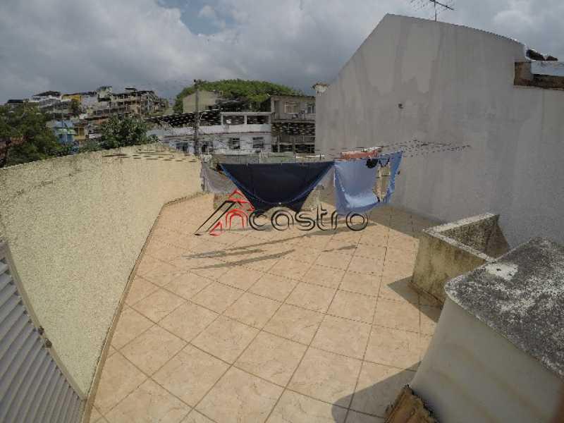 NCastro16. - Casa Rua Eça de Queiros,Olaria,Rio de Janeiro,RJ À Venda,3 Quartos,70m² - M2133 - 20