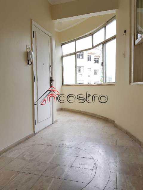 NCastro01. - Apartamento 3 quartos para alugar Tijuca, Rio de Janeiro - R$ 1.750 - 3045 - 1
