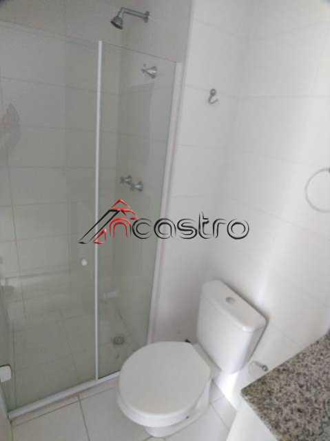 NCastro04. - Apartamento à venda Rua Miguel Cervantes,Cachambi, Rio de Janeiro - R$ 278.000 - 2249 - 19