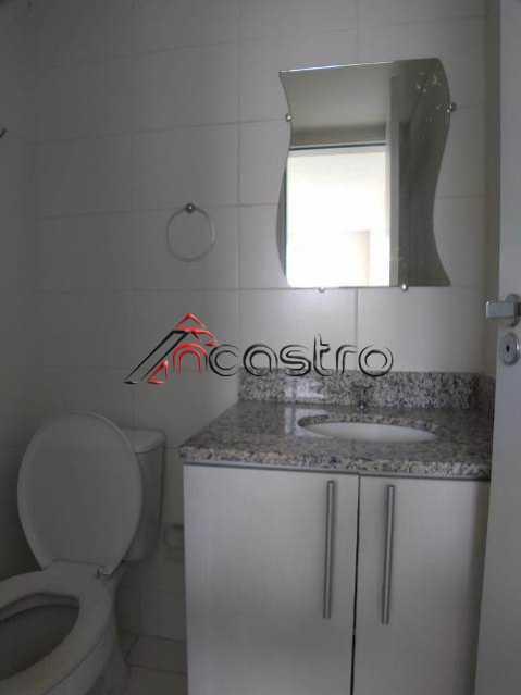 NCastro09. - Apartamento à venda Rua Miguel Cervantes,Cachambi, Rio de Janeiro - R$ 278.000 - 2249 - 21