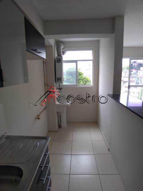 NCastro18. - Apartamento à venda Rua Miguel Cervantes,Cachambi, Rio de Janeiro - R$ 278.000 - 2249 - 18