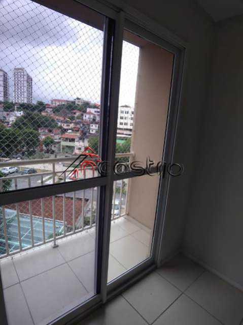 NCastro22. - Apartamento à venda Rua Miguel Cervantes,Cachambi, Rio de Janeiro - R$ 278.000 - 2249 - 24