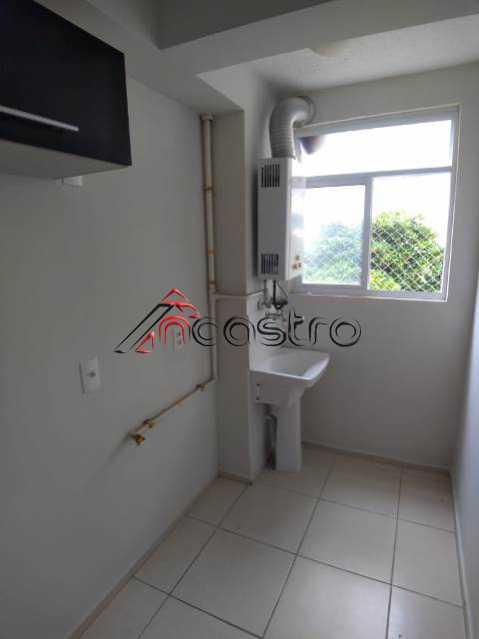 NCastro23. - Apartamento à venda Rua Miguel Cervantes,Cachambi, Rio de Janeiro - R$ 278.000 - 2249 - 28