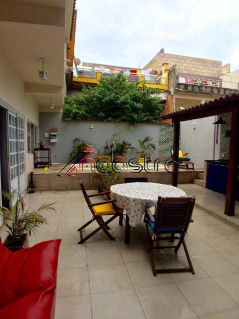 NCastro05 - Casa à venda Rua Filgueiras Lima,Riachuelo, Rio de Janeiro - R$ 500.000 - M2166 - 3