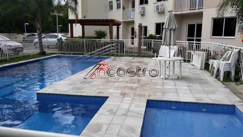 NCastro01. - Apartamento à venda Rua Miguel Cervantes,Cachambi, Rio de Janeiro - R$ 250.000 - 2278 - 4