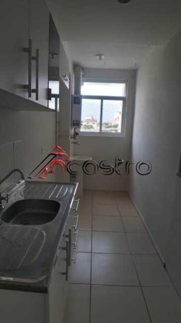 NCastro07. - Apartamento à venda Rua Miguel Cervantes,Cachambi, Rio de Janeiro - R$ 250.000 - 2278 - 21
