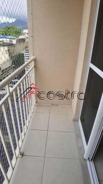 NCastro09. - Apartamento à venda Rua Miguel Cervantes,Cachambi, Rio de Janeiro - R$ 250.000 - 2278 - 22