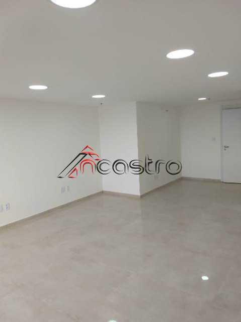 NCastro10. - Sala Comercial 35m² para alugar Avenida Pastor Martin Luther King Jr,Del Castilho, Rio de Janeiro - R$ 1.300 - T1048 - 8